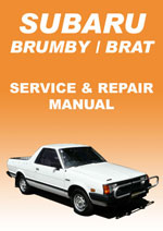 Brumby/Brat 1979-1989 Workshop Repair Manual