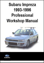 Subaru Impreza 1993-1996 Workshop Repair Manual