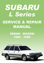 Subaru L-Series 1984-1989 Workshop Repair Manual