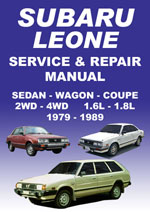 Subaru Leone 1979-1989 Workshop Repair Manual