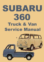 Subaru 360 Truck Van & Body Workshop Repair Manual
