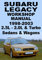Subaru Legacy 1998-2003 Workshop Repair Manual