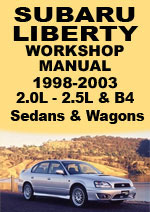 Subaru Liverty 1998-2003 Workshop Repair Manual