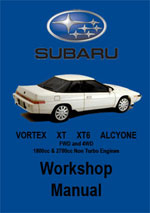 Subaru Vortex Workshop Repair Manual